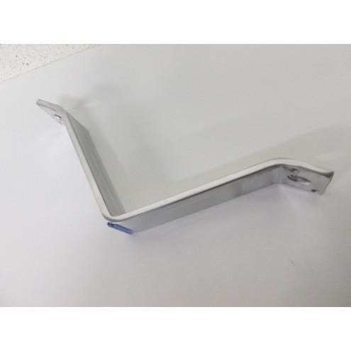 Pied métal alu, forme V, pour canapé et fauteuil