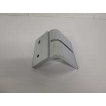 Pied métal chromé forme G pour canapé et fauteuil