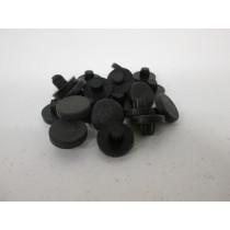 Patin Plastique - D:17mm H:10mm