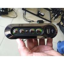 INTERRUPTEUR DE COMMANDE 4 BOUTONS POUR RELAX ELECTRIQUE + PORT USB