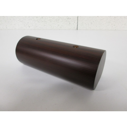 Pied bois forme Tube - L:200mm  l:80mm  H:70mm