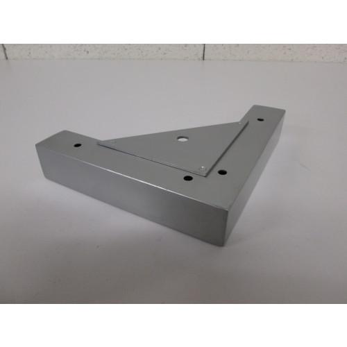 Pied métal forme L - L:190mm  l:190mm  H:40mm