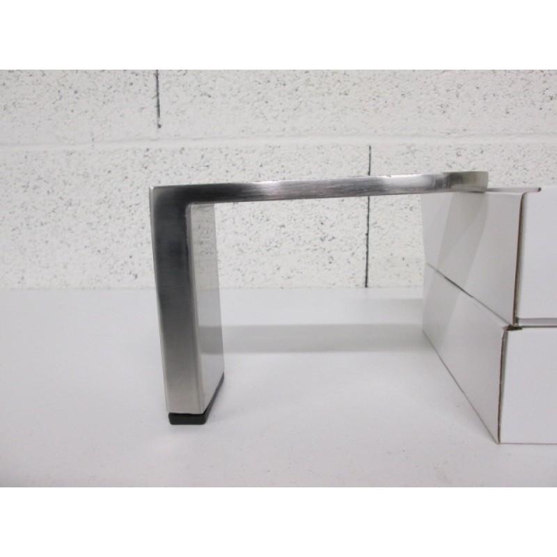 pied métal côté gauche pour canapé et fauteuil