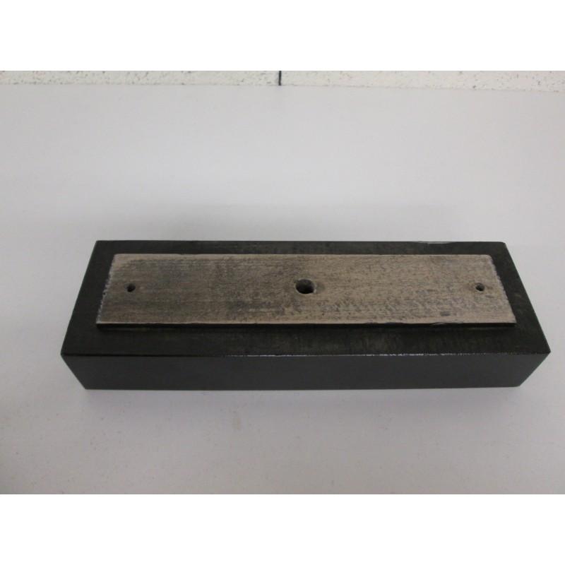 Pied en bois forme rectangle pour canapé et fauteuil