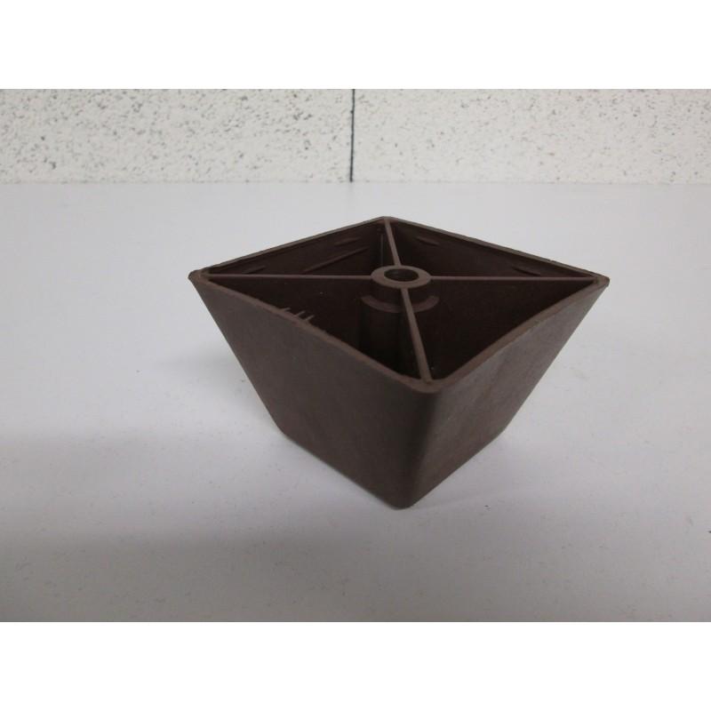 Pied plastique forme quadrilatère pour canapé et fauteuil