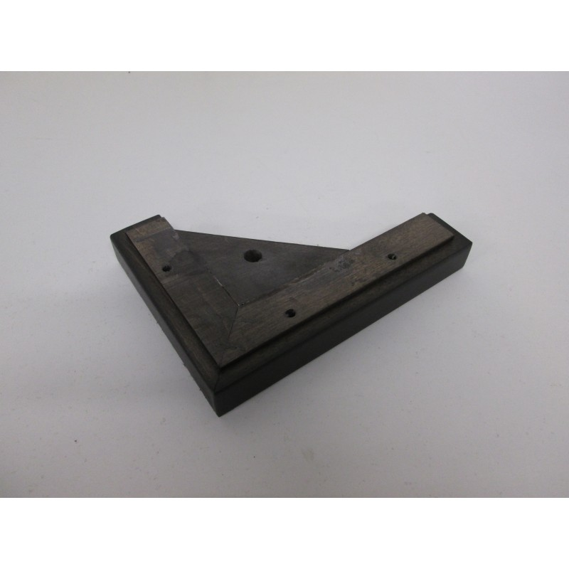 Pied bois forme L pour côté gauche de canapé et fauteuil