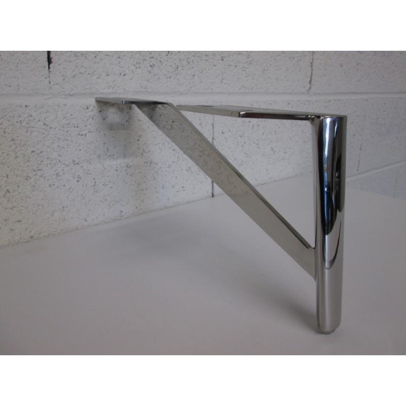 Pied métal côté droit pour canapé et fauteuil