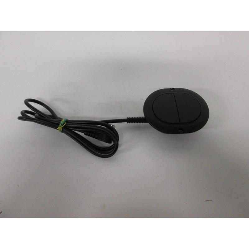 interrupteur de commande 2 boutons pour mécanisme relax de canapé et fauteuil