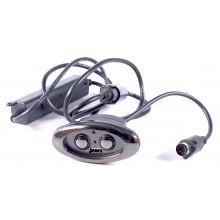 INTERRUPTEUR 2 BOUTONS DE COMMANDE DE RELAX ELECTRIQUE + PORT USB
