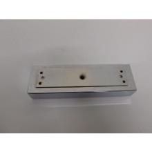 Pied métal rectangulaire - L:270mm  l:80mm  H:40mm