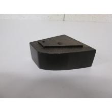 Pied bois forme Trapèze - L:100mm  l:100mm  H:45mm