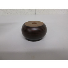Pied bois forme Rond - Diam:65mm  H:40mm