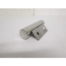 Pied métal en forme de Tube - L:150mm