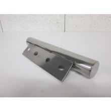 Pied métal forme Tube - L:280mm  H:45mm