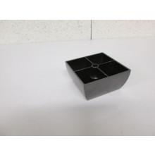 Pied plastique forme Carré