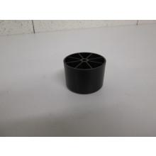 Pied plastique forme Rond - D:60mm  H:40mm