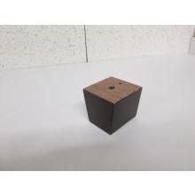 Pied bois forme Trapèze - L:65mm  l:65mm  H:60mm