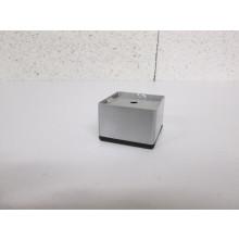 Pied métal forme Carré - L:50mm   l:50mm  H:35mm