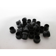 Patin plastique pour pied en bois - L:15mm  H:15mm