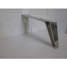 Pied métal forme L - L:270mm  l:70mm  H:140mm