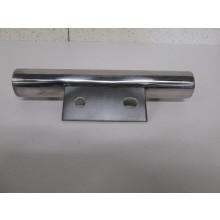 Pied métal forme Tube - L:230mm  l:70mm  H:40mm