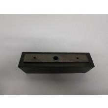 Pied bois forme I - L:180mm  l:50mm  H:45mm