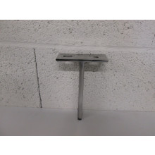 Pied métal forme T - L:100mm   l:40mm  H:155mm