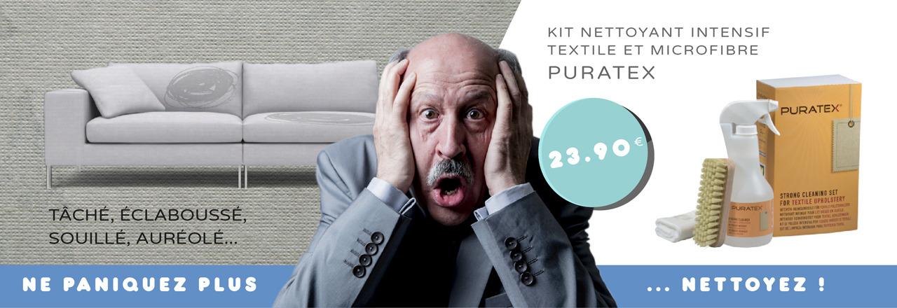 Kit nettoyant intensif PURATEX