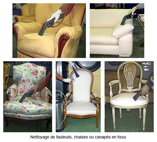 nettoyage des textiles