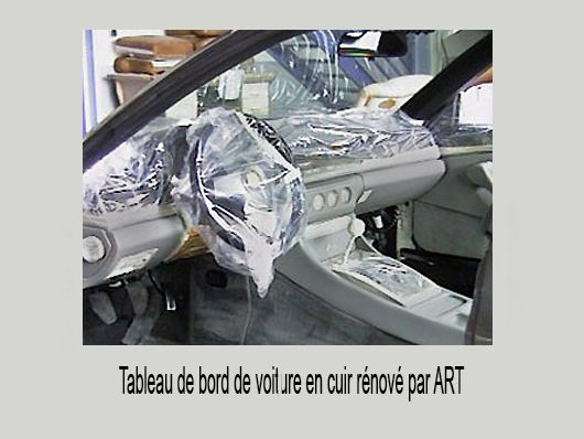 renovation tableau de bord automobile