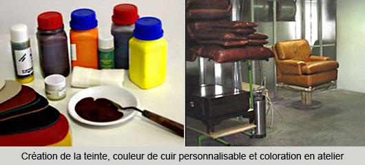 Recherche de teinte et recoloration