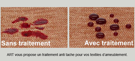 traitement anti-tache textile