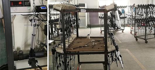 Visite d'un fabricant de pièces détachées test produits